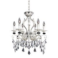 Allegri Donizetti 6 Light Convertible Pendant or Flush Mount in Two-Tone Silver 025141-017-FR001