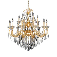 Allegri 025453-011-FR001 Barret 18 Light 39 inch 24K French Gold Chandelier Ceiling Light in Firenze Clear photo thumbnail
