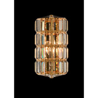 Julien 2 Light 6 inch 18K Gold Wall Sconce Wall Light