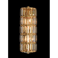 Julien 3 Light 6 inch 18K Gold Wall Sconce Wall Light