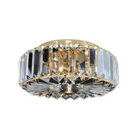 Julien 2 Light 10 inch 18K Gold Flush Mount Ceiling Light