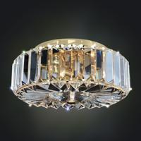 Allegri 025740-010-FR001 Julien 2 Light 10 inch Chrome Flush Mount Ceiling Light