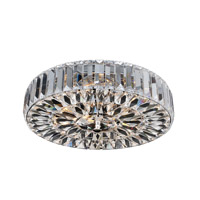 Allegri 025741-010-FR001 Julien 4 Light 16 inch Chrome Flush Mount Ceiling Light