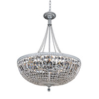 Aulio 11 Light 24 inch Chrome Pendant Ceiling Light