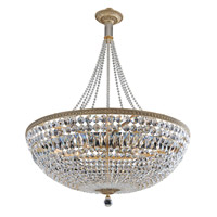 Aulio 13 Light 30 inch Antique Gold Pendant Ceiling Light