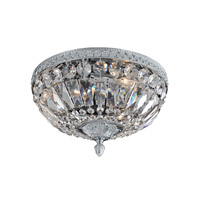 Lemire 3 Light 12 inch Chrome Flush Mount Ceiling Light