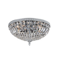 Lemire 5 Light 18 inch Chrome Flush Mount Ceiling Light
