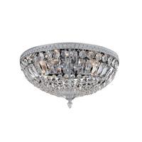 Allegri 025943-010-FR001 Lemire 5 Light 18 inch Chrome Flush Mount Ceiling Light