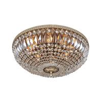 Allegri 025944-010-FR001 Lemire 8 Light 24 inch Chrome Flush Mount Ceiling Light