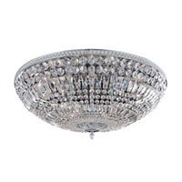 Lemire 12 Light 30 inch Chrome Flush Mount Ceiling Light