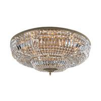 Allegri 025946-031-FR001 Lemire 14 Light 36 inch Antique Gold Flush Mount Ceiling Light