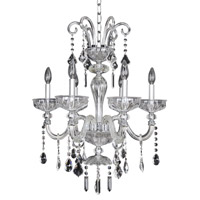 Allegri Clovio 6 Light Chandelier in Chrome 026050-010-FR001