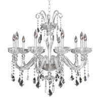 Allegri Clovio 10 Light Chandelier in Chrome 026052-010-FR001