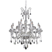Allegri Clovio 15 Light Chandelier in Chrome 026053-010-FR001