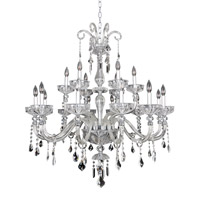 Clovio 18 Light 39 inch Chrome Chandelier Ceiling Light