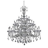 Allegri Clovio 34 Light Chandelier in Chrome 026055-010-FR001