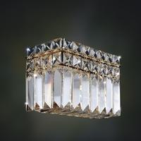 Allegri 026223-018-FR001 Vanita 2 Light 7 inch 18K Gold Wall Sconce Wall Light