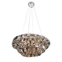 Allegri 026350-010-FR000 Gehry 8 Light 24 inch Chrome Pendant Ceiling Light