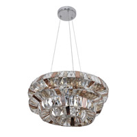 Allegri 026351-010-FR000 Gehry 6 Light 18 inch Chrome Pendant Ceiling Light