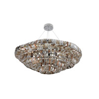 Gehry 21 Light 39 inch Chrome Pendant Ceiling Light