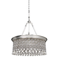 Allegri 026652-017-FR001 Clare 6 Light 26 inch Two-Tone Silver Pendant Ceiling Light photo thumbnail