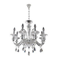 Chauvet 8 Light 27 inch Polished Chrome Chandelier Ceiling Light