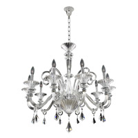 Chauvet 10 Light 33 inch Polished Chrome Chandelier Ceiling Light