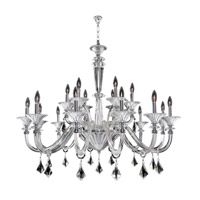 Chauvet 18 Light 43 inch Polished Chrome Chandelier Ceiling Light