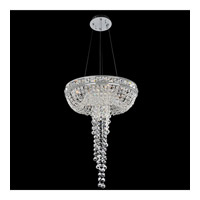 Cascata 4 Light 18 inch Chrome Pendant Ceiling Light