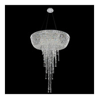 Cascata 8 Light 32 inch Chrome Pendant Ceiling Light