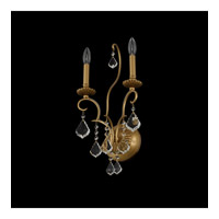Allegri 027421-047-FR001 Elise 2 Light 11 inch Gold Patina Wall Sconce Wall Light