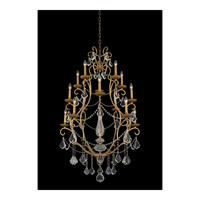 Allegri 027472-047-FR001 Elise 15 Light 34 inch Gold Patina Chandelier Ceiling Light