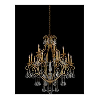 Allegri 027473-047-FR001 Elise 15 Light 37 inch Gold Patina Chandelier Ceiling Light