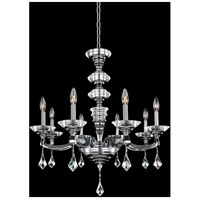 Allegri Chrome Cast Solid Brass Chandeliers