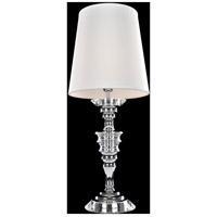 Allegri 027790-010-FR001 Cosimo 28 inch 60 watt Chrome Table Lamp Portable Light