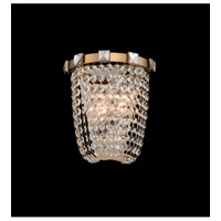 Impero 2 Light 9 inch Brushed Champagne Gold Wall Sconce Wall Light