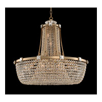 Impero 15 Light 36 inch Brushed Champagne Gold Pendant Ceiling Light