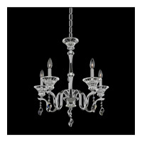Lusso 5 Light 24 inch Chrome Chandelier Ceiling Light