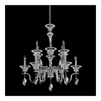 Lusso 12 Light 36 inch Chrome Chandelier Ceiling Light