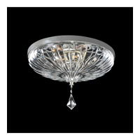 Orecchini 4 Light 20 inch Chrome Flush Mount Ceiling Light