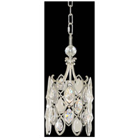Prive 1 Light 8 inch Two Tone Silver Mini Pendant Ceiling Light
