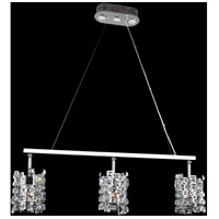 Allegri Chrome Steel Island Lights