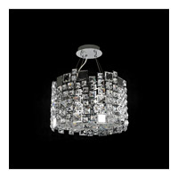 Dolo 8 Light 24 inch Chrome Pendant Ceiling Light