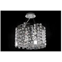 Allegri 028952-010-FR001 Dolo 4 Light 16 inch Chrome Pendant Ceiling Light