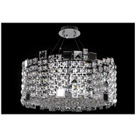 Allegri 028953-010-FR001 Dolo 8 Light 24 inch Chrome Pendant Ceiling Light