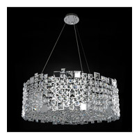 Dolo 12 Light 32 inch Chrome Pendant Ceiling Light