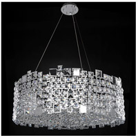 Allegri 028954-010-FR001 Dolo 12 Light 32 inch Chrome Pendant Ceiling Light