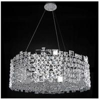 Allegri 028954-010-FR001 Dolo 12 Light 32 inch Chrome Pendant Ceiling Light