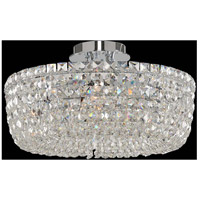 Cessano 5 Light 18 inch Polished Chrome Semi Flush Ceiling Light