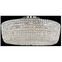 Cessano 8 Light 32 inch Polished Chrome Semi Flush Ceiling Light